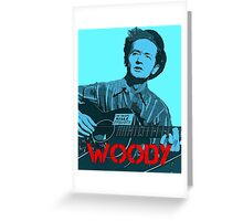 WOODY GUTHRIE Greeting Card