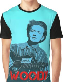 WOODY GUTHRIE Graphic T-Shirt