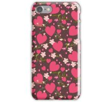 Hearts and Flowers iPhone Case/Skin