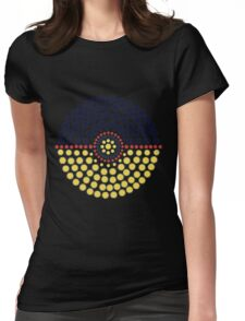 Umbreon Pokeball Womens Fitted T-Shirt