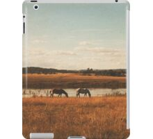 Vintage Horses iPad Case/Skin