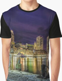 Boston Harbor Graphic T-Shirt