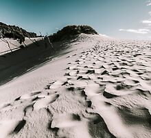 Ocean Beach desert in Tasmania by Ryan Jorgensen