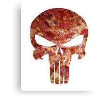 Pizza Punisher  Canvas Print