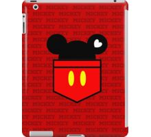 [Men] Mickey's Love iPad Case/Skin