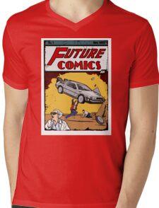 Future Comics Mens V-Neck T-Shirt