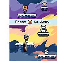 Pixel Video Game Photographic Print