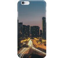 Traffic at night  iPhone Case/Skin
