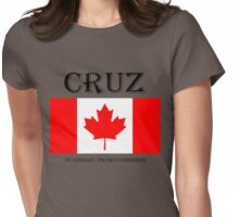 CRUZ...the IMMIGRANT who hates IMMIGRANTS! Womens Fitted T-Shirt
