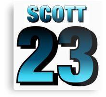 Nathan Scott23 Metal Print
