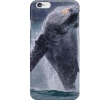 Whales can fly! iPhone Case/Skin