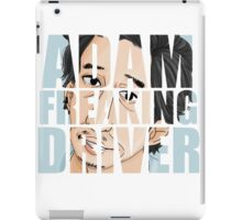 Adam Driver Text Design iPad Case/Skin