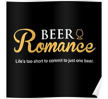 Beer Romance Poster