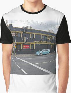 Cock 'n' Bull British Pub, Launceston, Tasmania, Australia Graphic T-Shirt