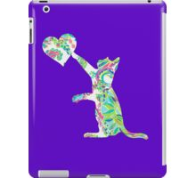 Lilly Pulitzer Inspired Cat Love - Toucan Play iPad Case/Skin