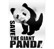 SAVE THE GIANT PANDA Poster