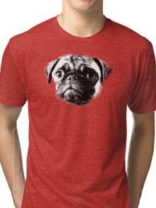 Tough Life Pug Tri-blend T-Shirt