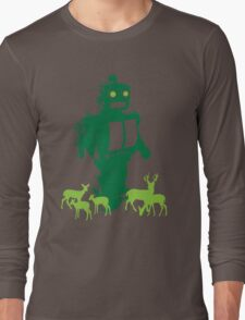 Robots and Nature II Long Sleeve T-Shirt