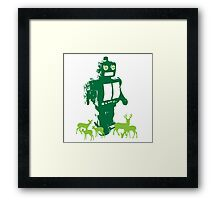 Robots and Nature II Framed Print