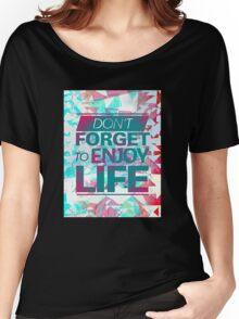 Enjoy Life Women's Relaxed Fit T-Shirt