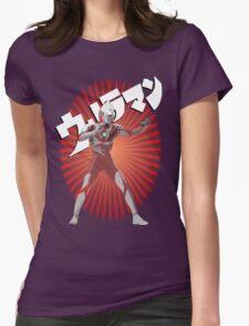 UltraMan Japanese Fun Time Womens Fitted T-Shirt