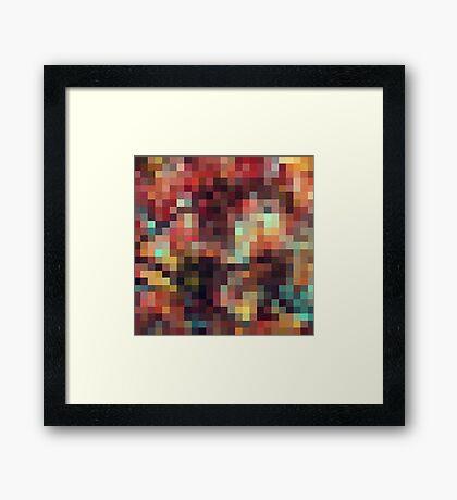 Nature Pixels No 11 Framed Print