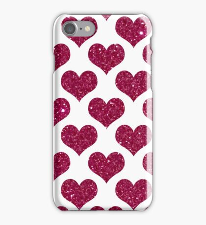 Big Hearts in PINK iPhone Case/Skin