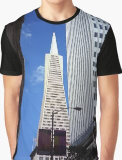 San Francisco - Transamerica Pyramid Building Graphic T-Shirt