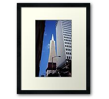 San Francisco - Transamerica Pyramid Building Framed Print