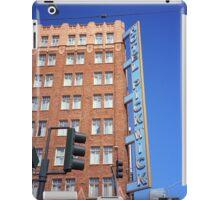 San Francisco Hotel Pickwick iPad Case/Skin