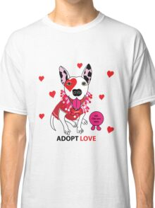 Theresa Pit bull Princess of Love Classic T-Shirt