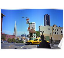 San Francisco Powell Street 2007 Poster