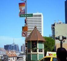 San Francisco Powell Street 2007 Sticker