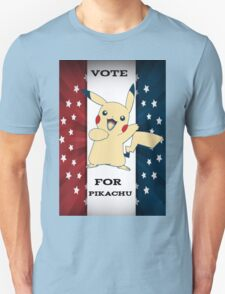Vote For Pikachu T-Shirt