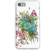 Succulents & Orchids iPhone Case/Skin