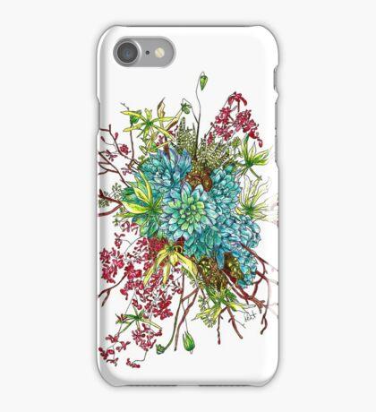Succulents & Orchids iPhone Case/Skin