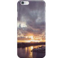 Chinook Bay Sunset iPhone Case/Skin