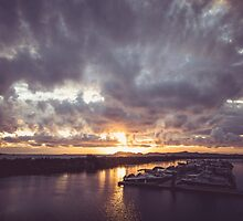 Chinook Bay Sunset by overseercorp