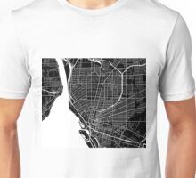 Buffalo Map - Black Unisex T-Shirt
