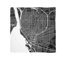 Buffalo Map - Black Scarf