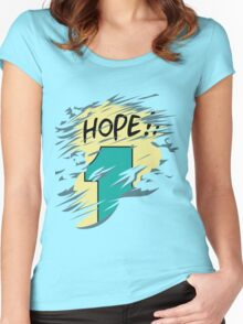 Hope!! Women's Fitted Scoop T-Shirt