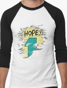 Hope!! Men's Baseball ¾ T-Shirt