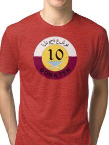The Doha Ten Tri-blend T-Shirt