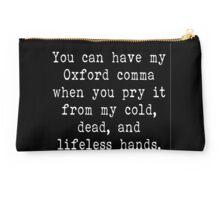 My Oxford Comma Studio Pouch