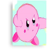 Kirby punch Canvas Print