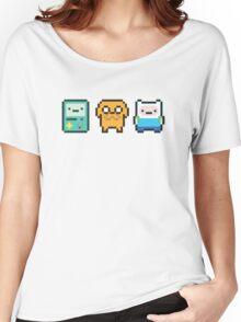 8-bit Jake Finn & Beemo Women's Relaxed Fit T-Shirt
