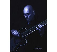 Jazz in Blue Photographic Print