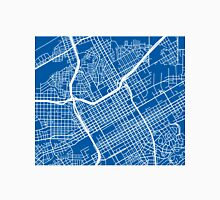 Birmingham, AL Map - Deep Blue Unisex T-Shirt