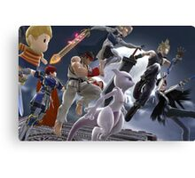 Super Smash Bros. DLC Canvas Print