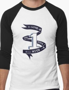Love The One Your With (No Heart) Men's Baseball ¾ T-Shirt